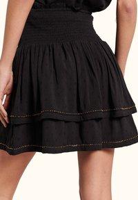 Superdry - AMEERA - A-line skirt - black - 1