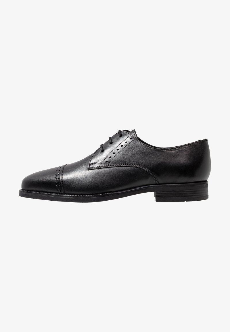 Jacamo - TOE CAP DERBY SHOE - Smart lace-ups - black