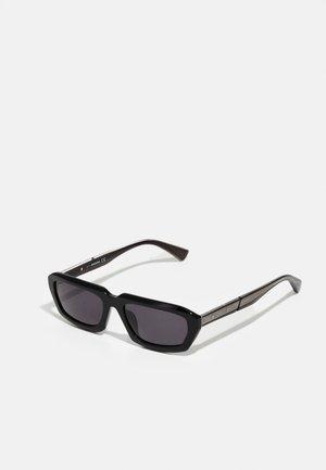 UNISEX - Gafas de sol - shiny black/smoke