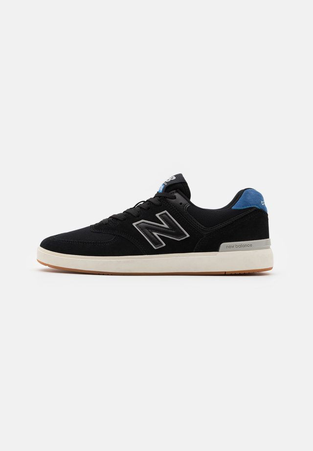ALL COAST - Sneakers laag - black/blue