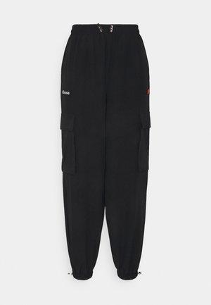 ROSANA TRACK PANT - Cargo trousers - black