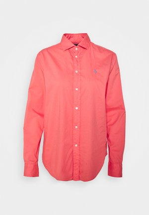 RELAXED LONG SLEEVE BUTTON FRONT SHIRT - Overhemdblouse - amalfi red