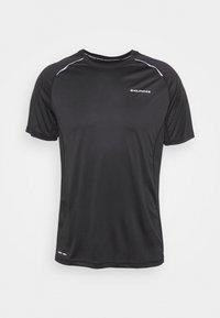 Endurance - LASSE TEE - T-shirt imprimé - black - 4