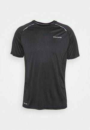 LASSE TEE - Camiseta estampada - black