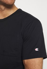 Champion - CREWNECK - T-shirt basic - black - 3