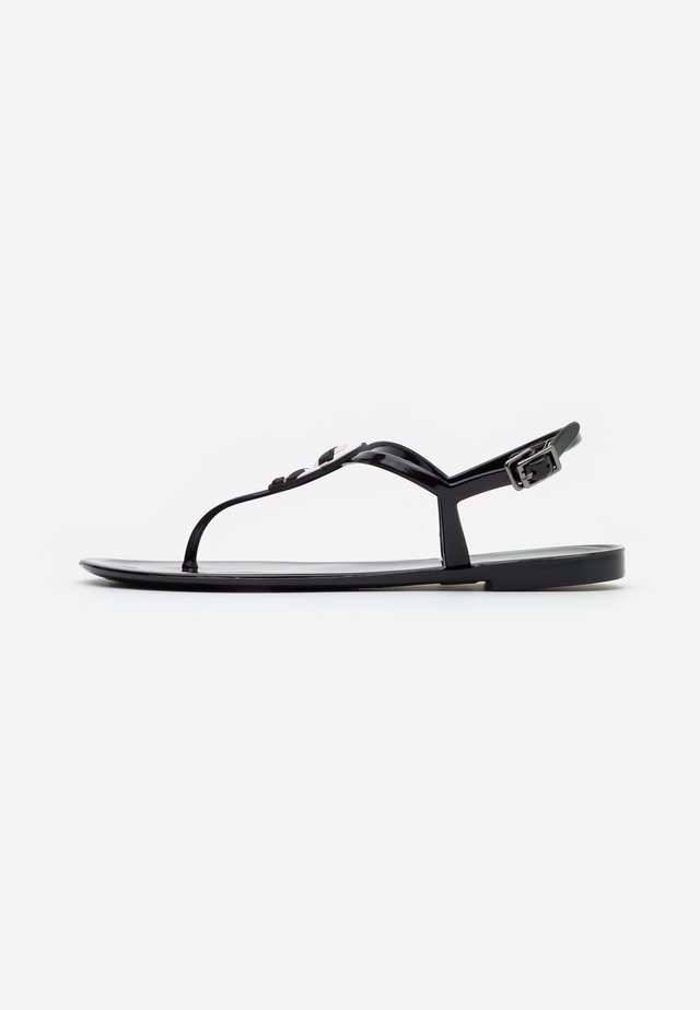 JELLY IKONIC SLING - Chanclas de dedo - black