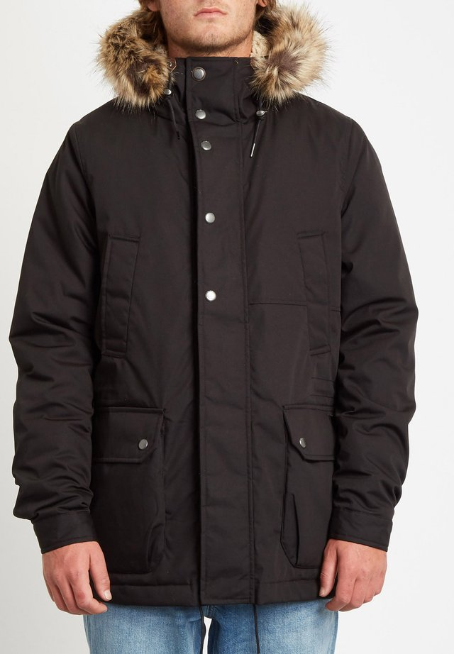 LIDWARD - Winterjas - black
