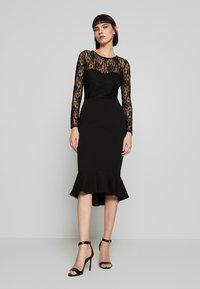 Missguided - Koktejlové šaty/ šaty na párty - black - 0