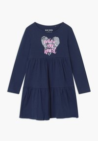 Blue Seven - GIRLS STYLE 2 PACK - Jersey dress - dark blue - 2