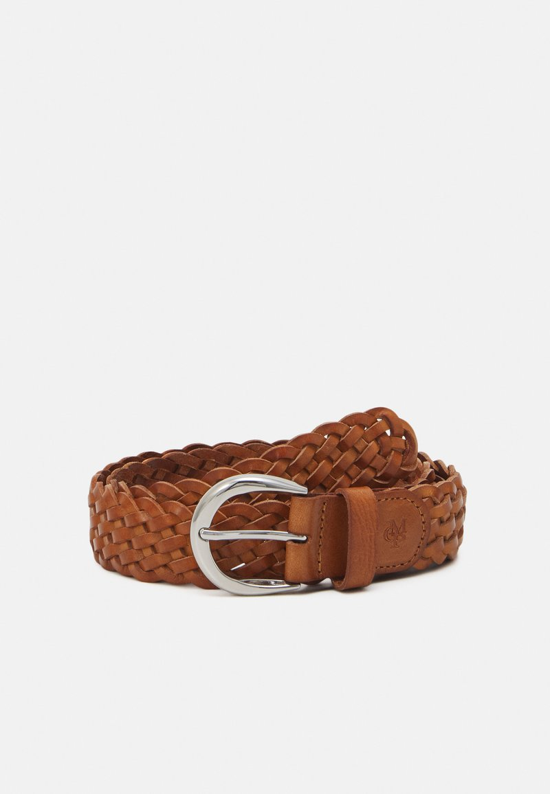 Marc O'Polo - RUNJA - Braided belt - burnt camel