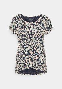 Esprit - CORE - Print T-shirt - navy - 0