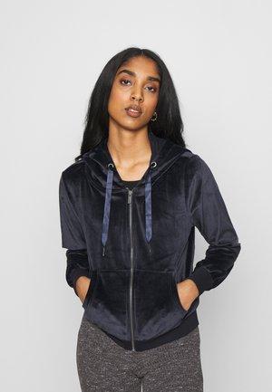ONLTAMMY HOODIE - Zip-up hoodie - night sky