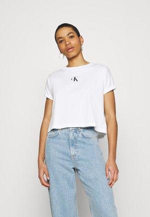 URBAN LOGO TEE - T-shirt imprimé - bright white