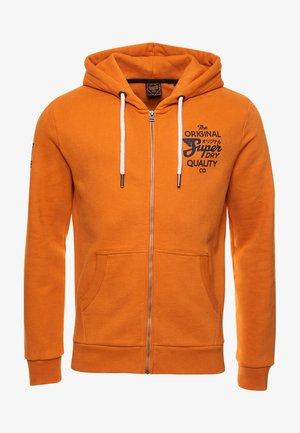 Zip-up sweatshirt - all net yellow