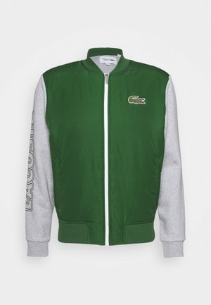 JACKET - Training jacket - green/silver