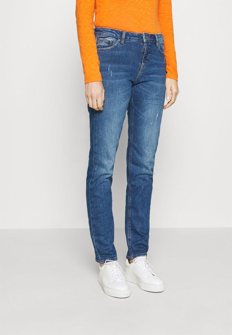 Esprit - Straight leg jeans - blue dark wash