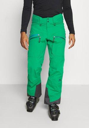MEN'S BACKSIDE PANTS - Zimní kalhoty - green