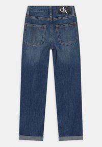 Calvin Klein Jeans - REGULAR STRAIGHT - Straight leg jeans - blue - 1