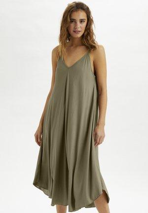 Sukienka z dżerseju - timber wolf