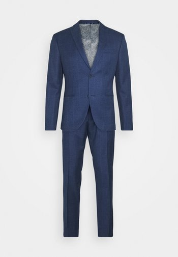 CHECK SUIT - Kostuum - blue
