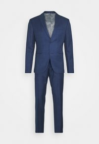 Isaac Dewhirst - CHECK SUIT - Suit - blue - 0