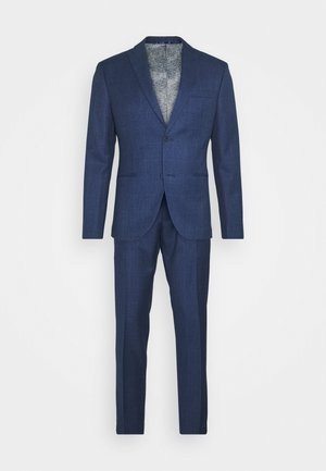 CHECK SUIT - Jakkesæt - blue