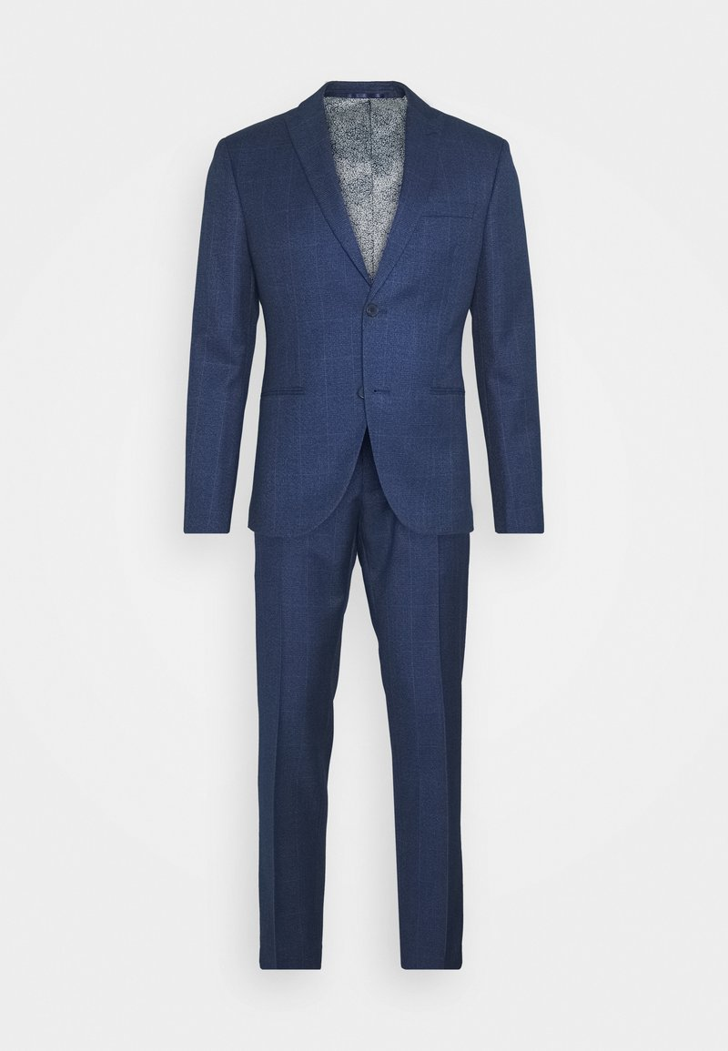 Isaac Dewhirst - CHECK SUIT - Suit - blue