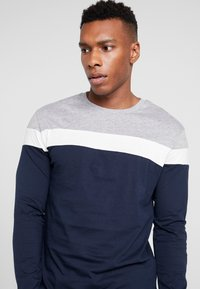 Pier One - Bluzka z długim rękawem - grey/dark blue - 4