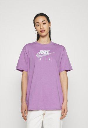 Print T-shirt - violet shock