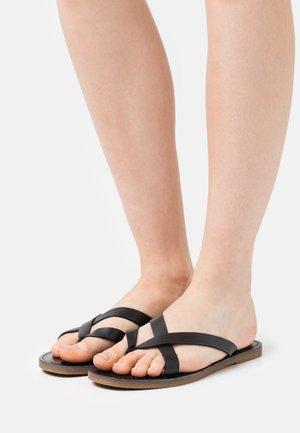 BOARDWALK LIV  - T-bar sandals - true black