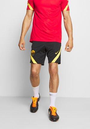 AS ROM DRY SHORT - Sports shorts - black/university gold/university gold
