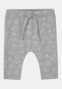 Staccato - GESCHENKSET UNISEX - Trousers - grey melange - 2
