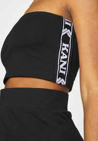 Karl Kani - TAPE TUBE - Top - black - 4