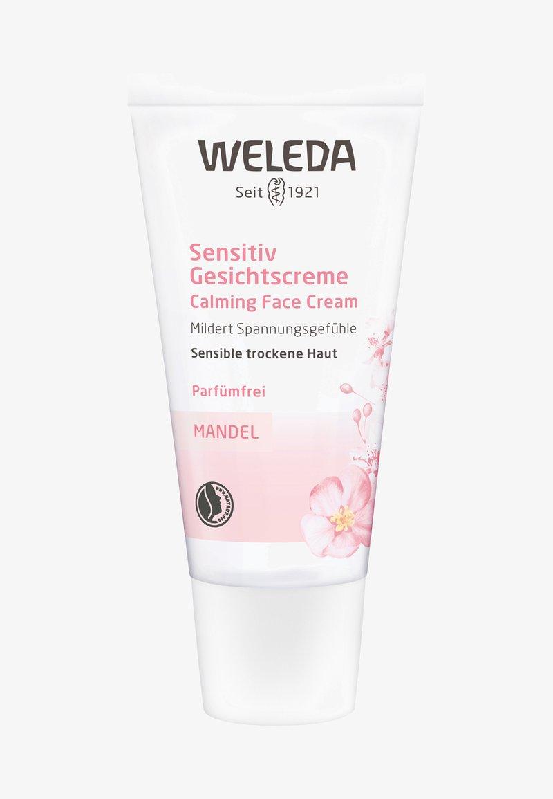 Weleda - ALMOND CALMING FACE CREAM - Face cream - -