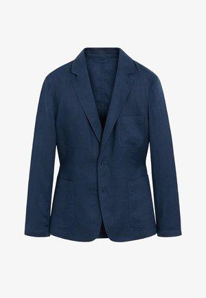 BISLAVE - Blazer jacket - dunkles marineblau