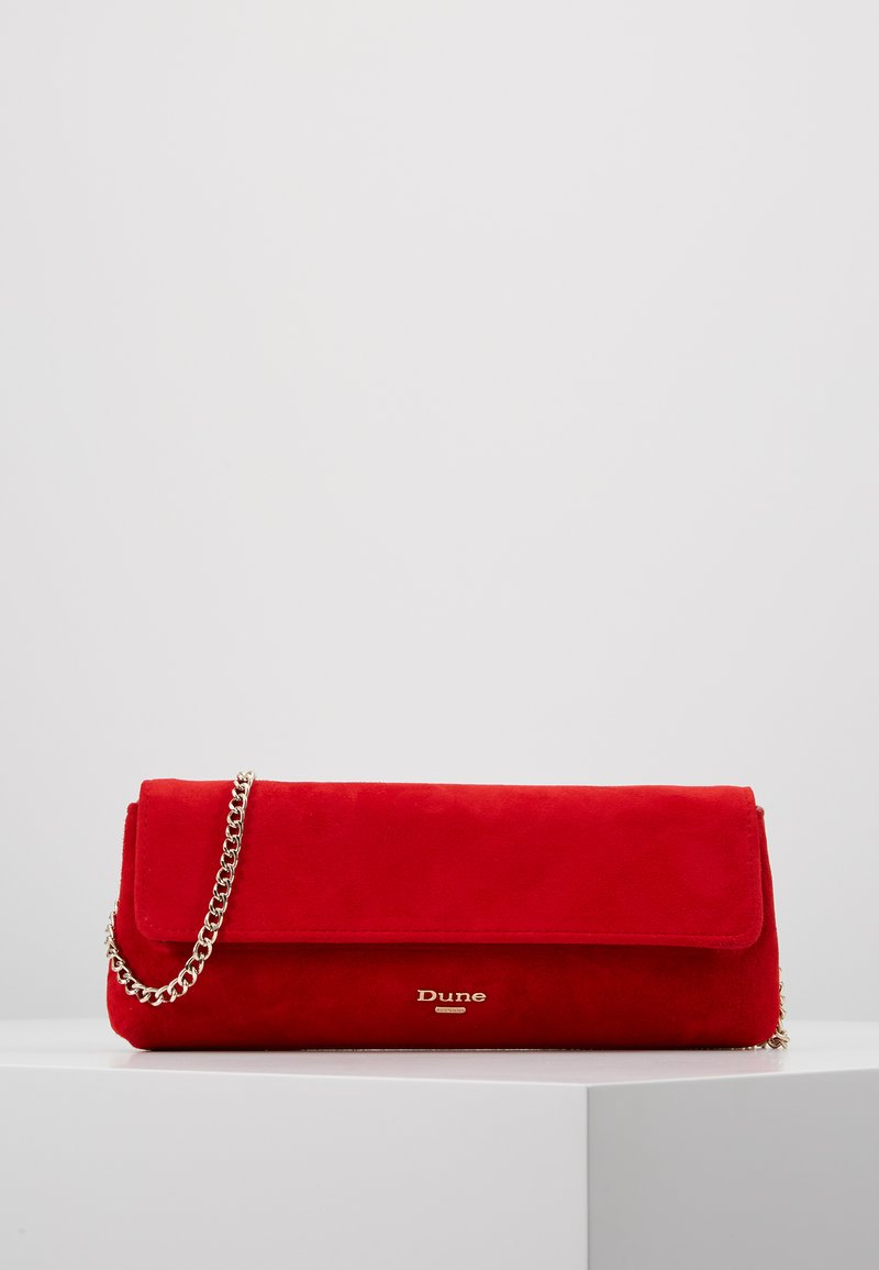 Dune London - BELONG TO - Clutch - red