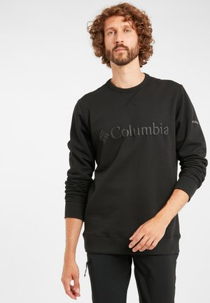 M Columbia™ Logo Fleece Crew - Sweatshirt - black puff logo