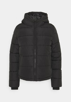 PCBEE SHORT JACKET - Zimní bunda - black