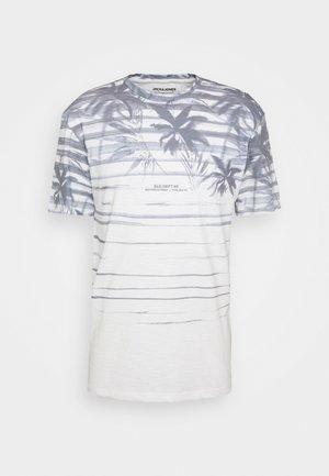 JORCOCOSUB TEE CREW NECK - Print T-shirt - cloud dancer