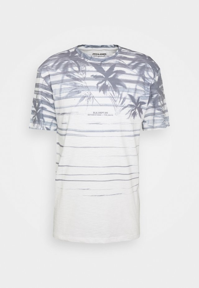 JORCOCOSUB TEE CREW NECK - T-shirt print - cloud dancer