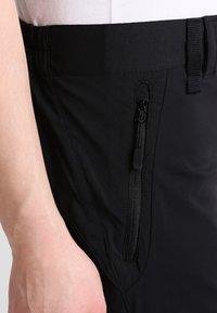 Jack Wolfskin - ACTIVATE LIGHT 3/4 PANTS - 3/4 sports trousers - black - 4