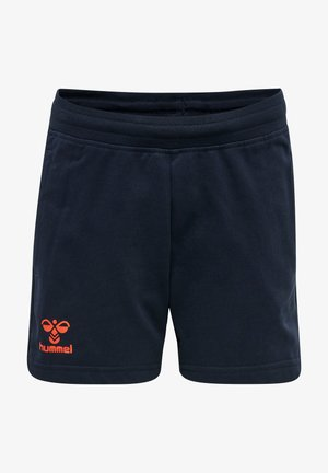 ACTION - Sports shorts - dark sapphire/fiesta