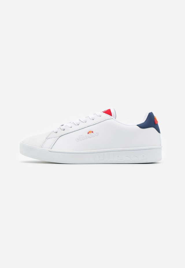 CAMPO - Joggesko - white/red/dark blue