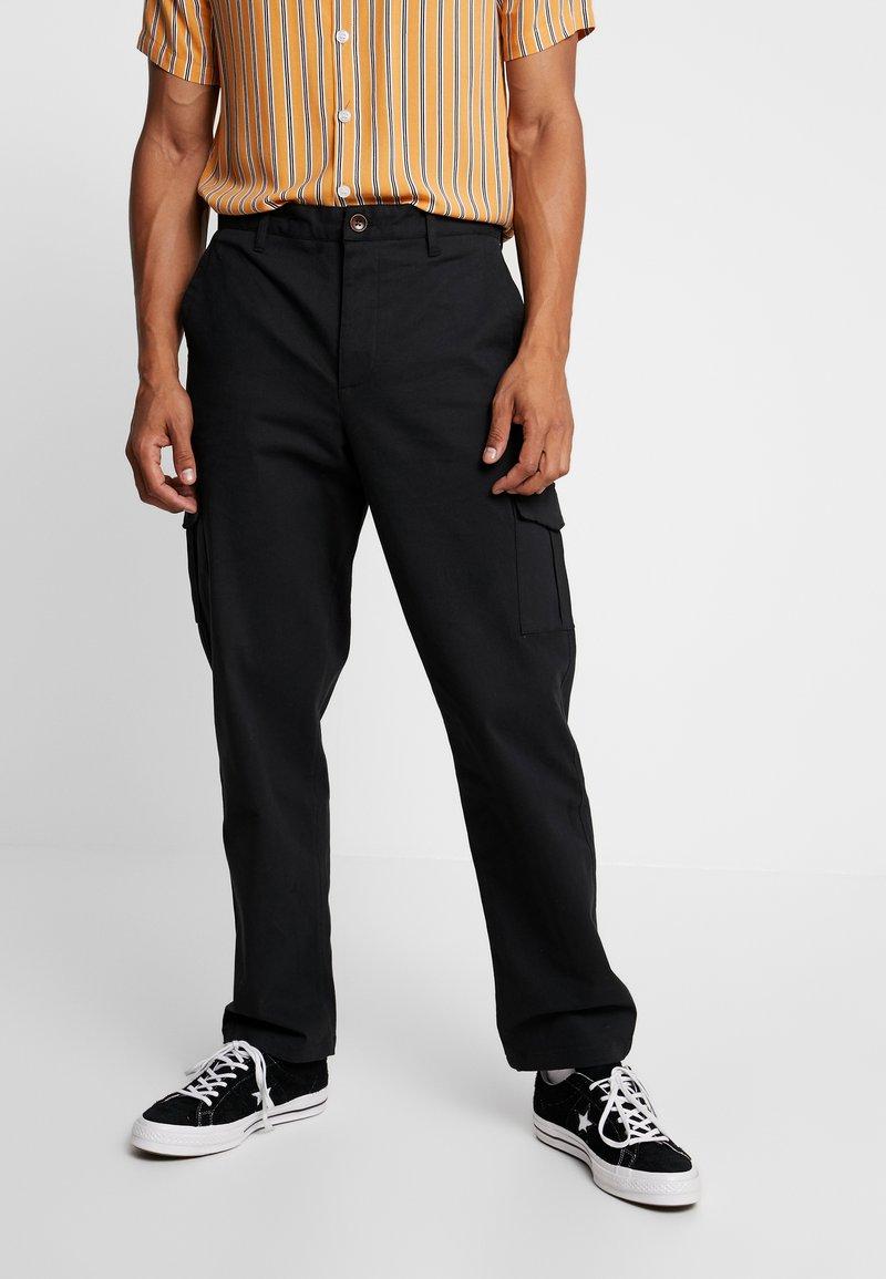 Suit - Pantaloni cargo - black