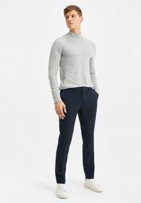 WE Fashion - DALI - Suit trousers - dark blue - 1