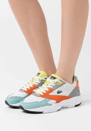STORM  - Sneakers - orange/light green