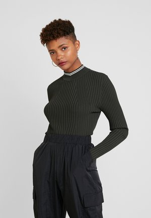 LYNN MOCK TURTLE - Jumper - asfalt