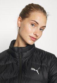 Puma - PWRWARM PACKLITE JACKET - Down jacket - black - 3