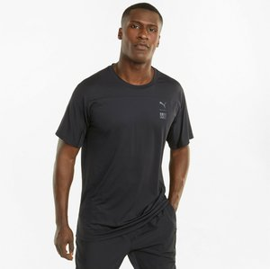 TRAIN FIRST MILE TEE - Basic T-shirt - black
