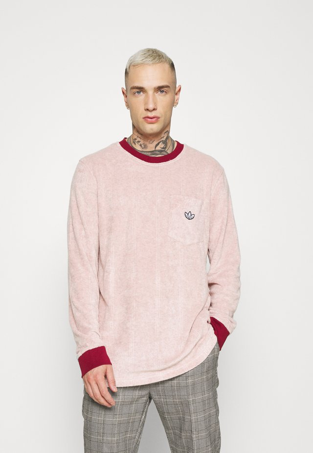 SAMSTAG TERRY - T-shirt à manches longues - pink